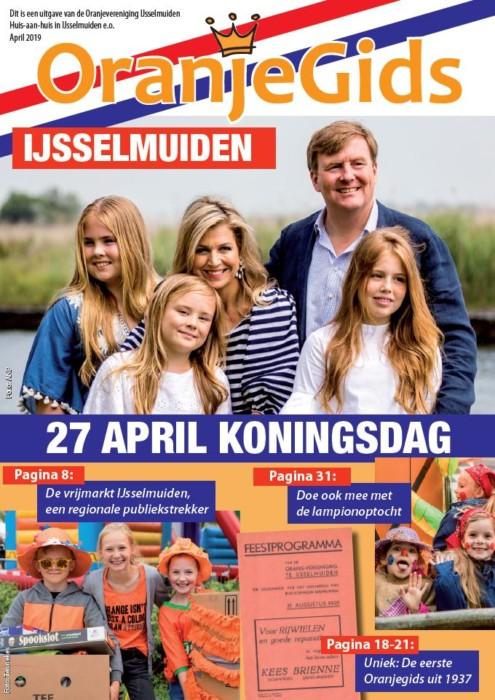 Oranjegids 2019 IJsselmuider Oranje Vereniging
